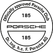 Officially approved Porsche Club 185